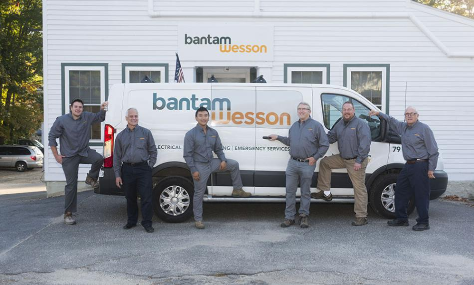 BantamWesson plumbing crew
