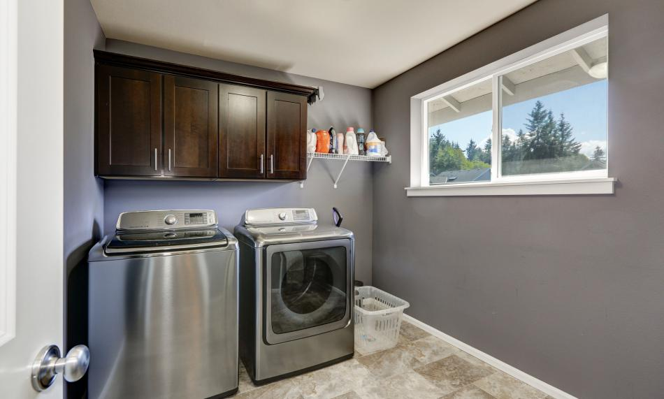 Propane washer and dryer