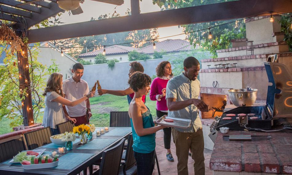 Outdoor Propane Kitchen