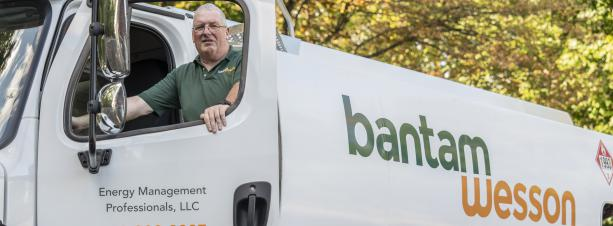 BantamWesson oil delivery driver