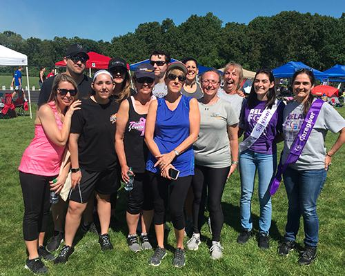 BantamWesson employees participating in the Relay for Life race