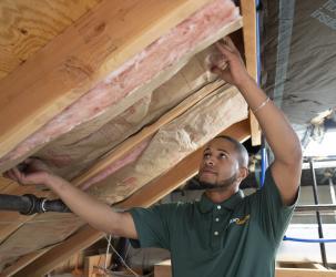 BantamWesson technician installing home installation