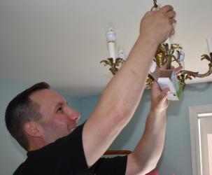 Changing LED bulb