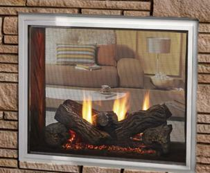 Fortress Fireplace by Majestic